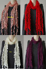 Various color Woemen  lace Simple Scarve/Wraps