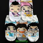 K-POP Korean super star character socks 1 pair / bigbang / women / unisex