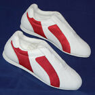 MARTIAL ART TRAINING SHOES WITH RED PANEL