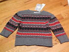 *NWT* Baby Boy's Soft Winter Sweater Size 6/9M or 12 Months~Orig $19.99!!
