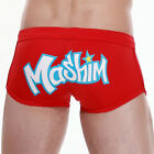 Summer Mens Swimwear Swimsuit Beachwear Swim Boxers Shorts Trunks Bathing Suit