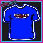 ENGLAND 6 NATIONS RUGBY TSHIRT CHILDS LADIES ADULTS SIZES