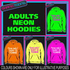 CLUBBING HOLIDAY TOWIE ESSEX  ADULTS TEENAGER ELECTRIC HOODIE HOODY