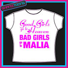 MALIA GIRLS HOLIDAY HEN PARTY PRINTED TSHIRT