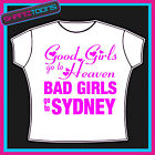 SYDNEY GIRLS HOLIDAY HEN PARTY PRINTED TSHIRT