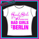 BERLIN GIRLS HOLIDAY HEN PARTY PRINTED TSHIRT
