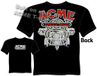 1932 Hot Rod T Shirt ACME 32 V8 Logo Speed Shop Clothing Tee Sz M L XL 2XL 3XL