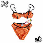 VOODOO DOLLS TANGO BIKINI SET ORANGE SIZE 8 & 12 SWIMWEAR RRP £35 SURF BNWT NEW