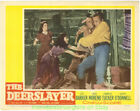 THE DEERSLAYER LOBBY CARD size MOVIE POSTER 3 Cards LEX BARKER RITA MORENO 1957