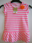 GIRLS CARTER'S LOVE TO TWIRL COLLECTION - PINK STRIPE DRESS - VARIOUS AGES