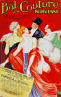 Decor Poster. Fine Graphic Home Art Design. Bal de la couture parisienne. 2706