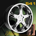 20 X 9.0 Milanni 541 ONE wheel Rim fit Charger Magnum Challengr Explorer Mustang