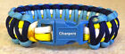 LOS ANGELES CHARGERS~NFL~Stylish 4 Color 550 Paracord Bracelet~Rivers~Gates~Seau $6.99 USD on eBay