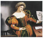 Lady witha Drawing of Luccretia, c.1530- Lorenzo Lotto - Art on Canvas