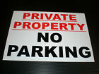 Private Property No Parking Sign Or Sticker Choice Of Sizes And Materials