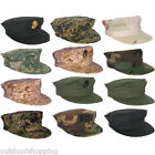 Rigid 2-Ply Construction Marine Corps Cap - USMC 7 Point Hat, Government Specs