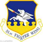 STICKER US Air Force - SSI - 51st Fighter Wing