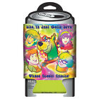 Scooby-Doo! Psychedelic Scooby Snacks Beer Huggie Can Cooler 2-Sided, NEW UNUSED