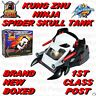 KUNG ZHU SPIDER SKULL TANK NINJA WARRIORS BNIB 1ST CLASS POST HAMSTER  NOT INC
