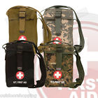 "PLATOON SHOULDER STRAP FIRST AID KIT - Includes 50+ Contents, 7.5"" x 5"" x 5"""
