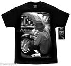 Lowrider Reflections '39 Chevy DGA Brand Homies T-Shirt Cholo Gangster Clothing