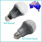 Brand New 3x 5W B22 Bayonet / E27 Edison Screw  Pure White/Warm White LED Bulb