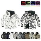 NWT Winter Mens Womens FullZip Snowboard Ski Jacket Jumper Hoodie Hooded Top CA