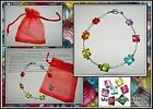 Floating Rainbow Beads Bracelet Jewellery Making Kit Instructions Gift Bag