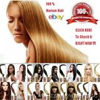 20''Beauty Wrap Remy Fusion I Stick Tip Human Hair Extensions 8Color Salon Style
