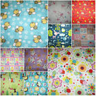 Camelot Nursery / Baby Designs 100% Cotton Flannel Fabric ~ 112cms wide