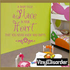 A Baby Fills a place in your heart Vinyl Wall Decal Quotes B004AbabyI8