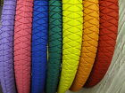 """DURO BMX Coloured 20 inch Tyres! 9 Colours! 20"""" tires tyre tire Free inner Tube"""