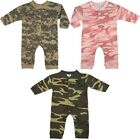 Camouflage Long Sleeve Infant One Piece Suit