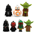 Cool Star War Cute Cartoon USB 2.0 Flash Drive Memory Stick 16GB 32GB Pendrive