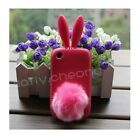 Rabbit TPU Case Cover For Blackberry Curve 8520 9300 Silicone Protector Fashion