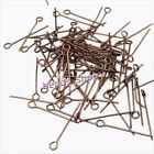 Wholesale Iron Eye Head Pins Fit Jewellry Making 22mm 6 Colors for choose