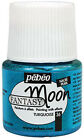 Pebeo FANTASY MOON Multi Surface Marble Effect Craft Paint 45ml Pot ALL COLOURS <br/> BUY 3 GET 1 FREE - ADDITIONAL POSTAGE FREE OR DISCOUNT