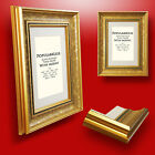 Gold Ornate Antique Picture Photo FRAMES Vintage Classic Retro FRAME with MOUNTS