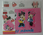 4 pcs Placemat & Coaster Set - Forever Friends; Disney Mickey & Pluto; Minnie