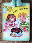 Hang Tags  HAPPY BIRTHDAY BOY GIRL CAKE TAGS or MAGNET #549  Gift Tags