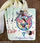 Hang Tags  RETRO INDEPENDENCE DAY PATRIOTIC TAGS #133  Gifts Tags