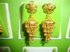 22K gold plated Indian Earrings  for Sarees