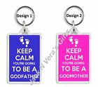 Keep Calm Going to be GodMother / GodFather God Parent Christening Baptism Gift