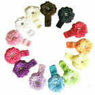 Baby Girl Peony Flower Headband Hair Accessories - FREE FAST SHIPPING FROM USA