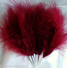 Wedding Party Prom Florist For Brides Bouquet Posy Bunch Fluff Maraboru Feathers
