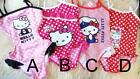 Lovely Pink /Red Dots Striped Hello Kitty Baby Girl Swimsuit Bathing Suit