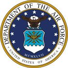 U.S. Department of Air Force #2 Wall Window Vinyl Decal Sticker Military
