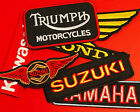 Motorcycle Brand Patches - EMBROIDERED - dirtbike ratbike brat metric scrambler $2.99 USD on eBay