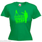 Roger That Funny Army Ladies Lady Fit T Shirt 13 Colours Size 6 - 16