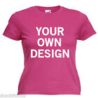 Promotional Branding Workwear Ladies Lady Fit T Shirt 13 Colours Size 6 - 16
